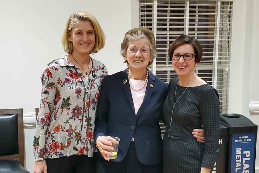 Drs. Karen McGlathery, Rita Colwell, Alison Criss
