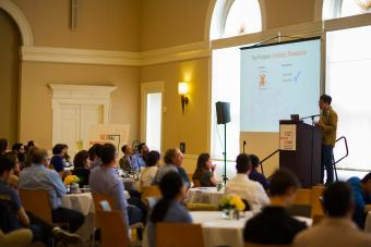 Martin Wu Presenting at 2019 GIDI Symposium