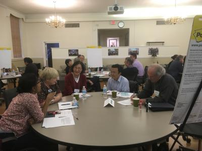 Faculty discuss potential for collaborations